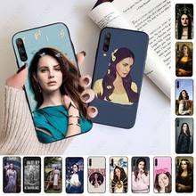 La cantante Lana Del Rey suave caso de teléfono para Samsung Galaxy A51 A71 A21S A10 A20S A20E A30S A40 A50 A70 A11 A40 M31 M30S teléfonos celulares