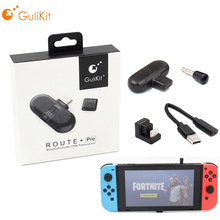 GuliKit Route+ Pro/Gulikit Route+ Wireless Buletooth Audio USB Receiver Transmitter for Nintendo Switch