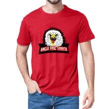 Unisex 100% algodão águia fang karate cobra kai filme inspirado engraçado verão camiseta masculina 80s retro feminino macio t presente tshirt