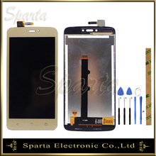 Replacement Black Touch Screen For Cubot S208 Touch Panel With Digitizer Glass Free Shipping touch panel for ug330 ss4 ug330h vs ug330h vh touch screen panel glass free shipping