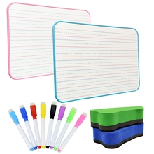 Y-Erase Whiteboard Learning Double-Sided Kids Portable with Small for Dr Line Students