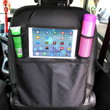 Universal Waterproof Car Back Seat Organizer Multi Pocket Storage Bag Seat Back Cover Bag Car Hanging Pouch Accessories Vehicle