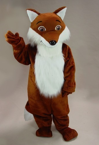 New Version the plush Fox Brown Mascot Costume Adult Birthday Party Fancy Dress Halloween Cosplay Outfits Clothing Xmas(China)