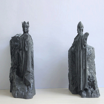 Nordic Resin The Argonath Sculptures Vintage Decoration Home Decor Art Statue Figurines Bookend Study Office Desktop Accessories image