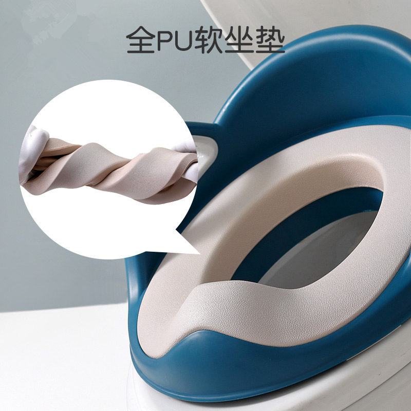 Toilet For Kids Baby Padded Toilet Seat CHILDREN'S Chamber Pot Coaster Upgraded With Armrests Toilet Seat Toilet