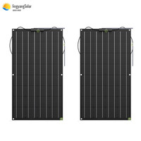 100W 200W 300W 400W etfe Solar Panel Flexible Monocrystalline Silicon Solar Panel for Outdoor Cycling, Climbing, Hiking, Camping