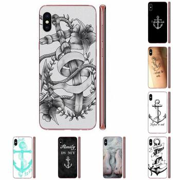 Soft Design Phone For Xiaomi Redmi Note 2 3 3S 4 4A 4X 5 5A 6 6A Pro Plus I Refuse To Sink Anchor image