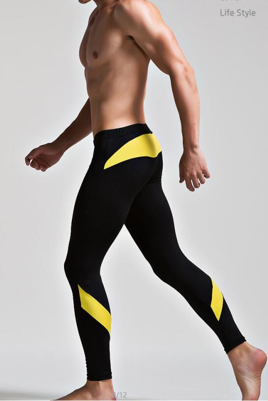 Men's Underwear Home Pants Tight Patchwork Pajama Pants