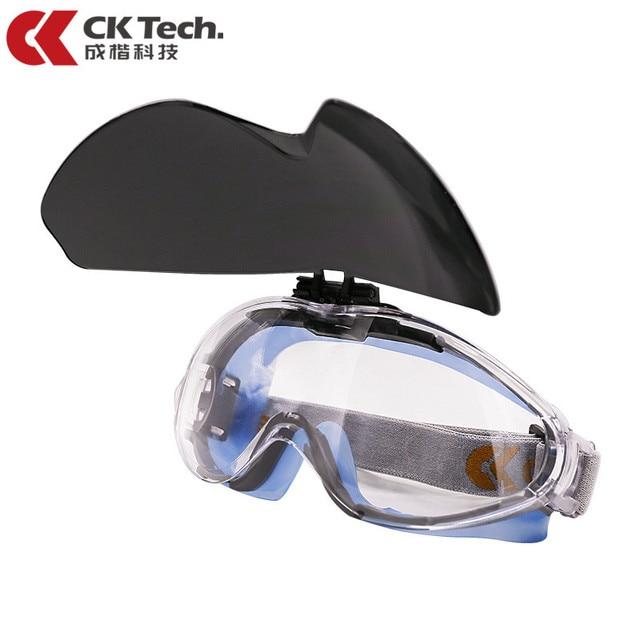 CK טק. בטיחות משקפי מגן שקוף נגד השפעה טקטי משקפיים רכיבה אופניים אנטי ערפל משקפיים מגן עבודה עיניים הגנה