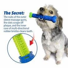 Vender bem kong cão brinquedo do cão de estimação escova de dentes de borracha filhote de cachorro mastigar brinquedo kong para cão acessórios dropshipping 2021 melhor vender produtos