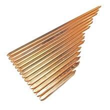 Труба из чистой меди трубка для компьютера ноутбука охлаждения ноутбука тепловая труба плоская 80 мм/100 мм/160 мм/180 мм/220 мм/260 мм/300 мм