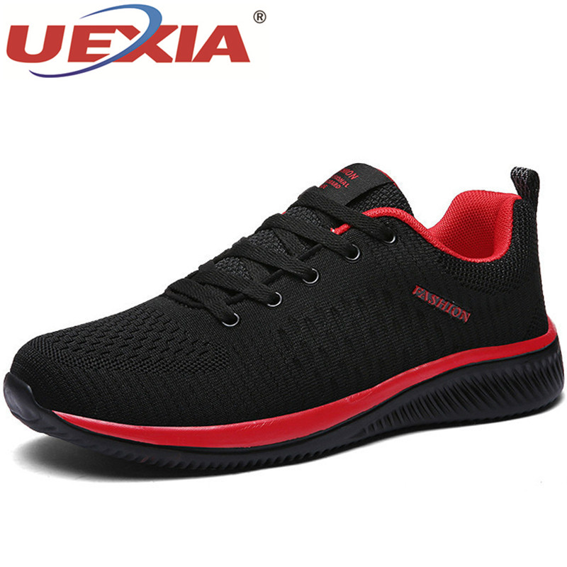Outdoor Sport Mesh Men Casual Shoes Lac-up Men Shoes Lightweight Comfortable Breathable Walking Sneakers Tenis Feminino Zapatos