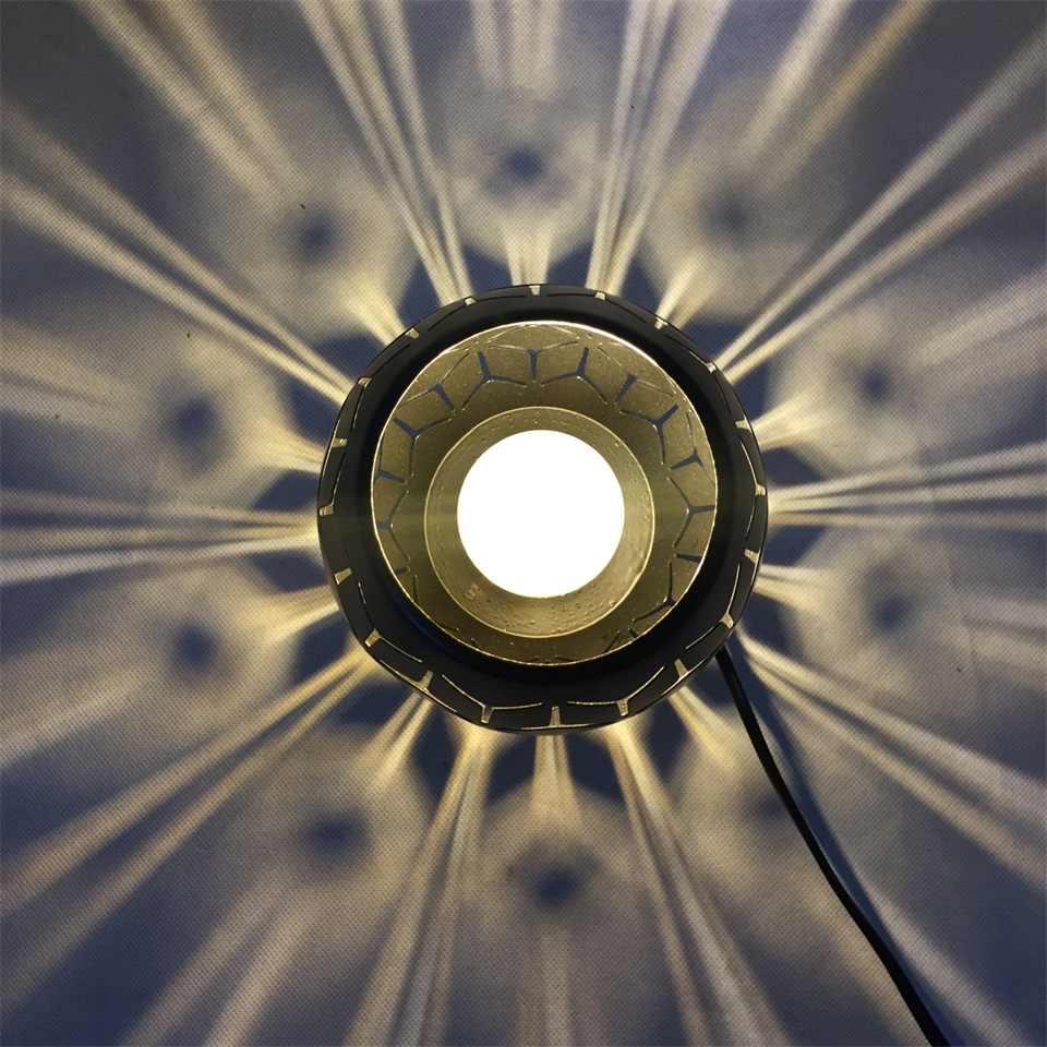 קטן שחור ברזל שולחן שינה סלון E14/E27 מנורה שליד המיטה אמנות מודרני מיטת מנורת חג המולד קישוט