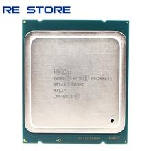 인텔 제온 E5 2680 V2 SR1A6 CPU 프로세서 10 코어 2.80GHz 25M 115W