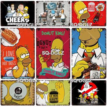 Selected Simpson Metal Sign Vintage Plaque Poster  1