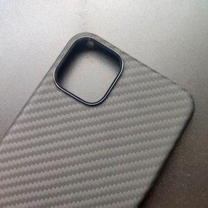 Image 3 - 0.7mm Ultra mince modèle de Fiber de carbone de luxe pour iPhone 11 Pro Max housse de protection en Fiber daramide étui pour iPhone 11Pro XS Max XR X