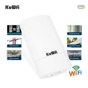Image 4 - 2 pezzi 5Ghz 900Mbps 1KM p2p Wireless Outdoor CPE Ponte Router Supporta La Funzione WDS Nessuna impostazione con display A LED