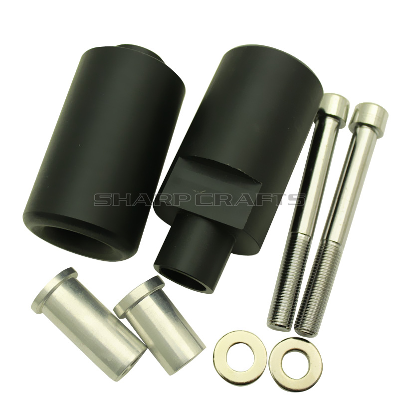 Motorcycle <font><b>Parts</b></font> No Cut Frame Sliders Crash Falling Protection Pad For <font><b>SUZUKI</b></font> GSXR600 GSXR750 <font><b>GSXR</b></font> 600 <font><b>750</b></font> K4 2004-2005 GSX-R image