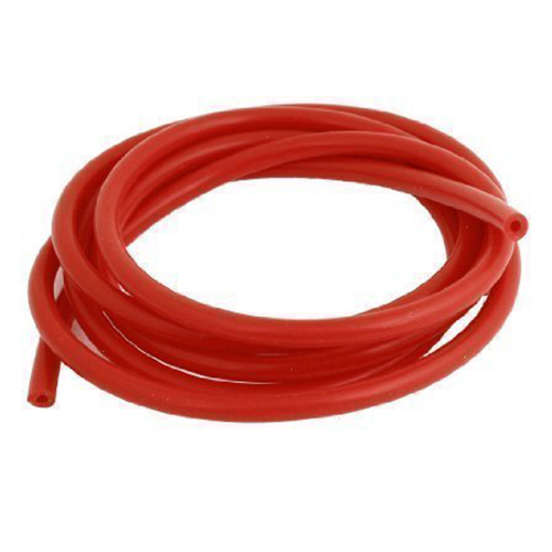 Promotion! 2 Meter Red Silicone Vacuum Tube Hose 4mm ID 7mm OD For Car