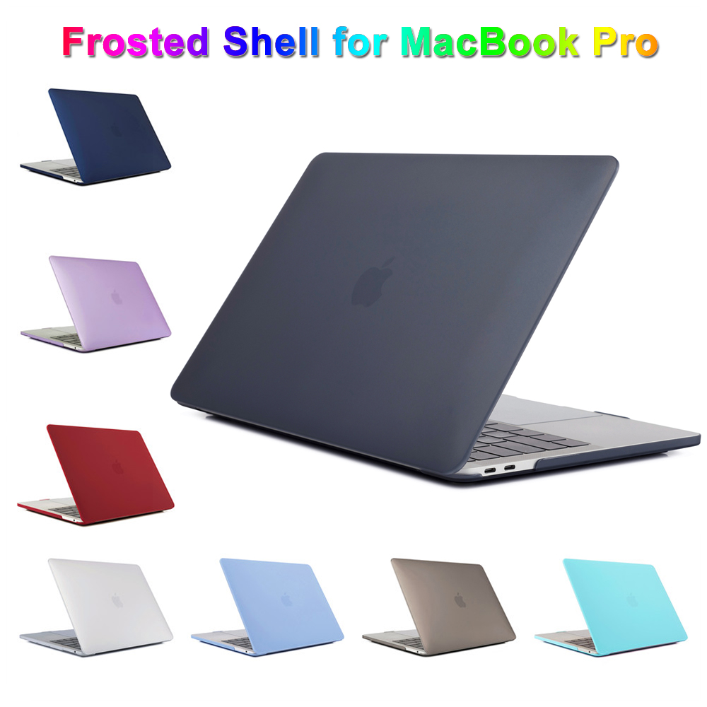 "For MacBook Pro 16 Inch Case Notebook Scratch Resistant Plastic Cover Frosted Protective Shell Case For 16"" Macbook Laptop Case"