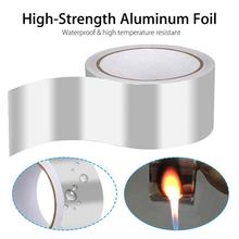 Aluminum Foil Adhesive Tape Waterproof Duct Tape Super Repair Crack Thicken Butyl Waterproof Tape Home Renovation Tools
