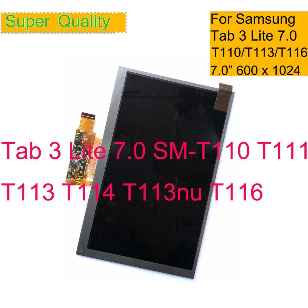 10 шт./лот для Samsung Galaxy Tab 3 Lite 7,0 SM-T110 T111 T113 T114 T113nu T116 ЖК-дисплей экран монитор запчасть для замены