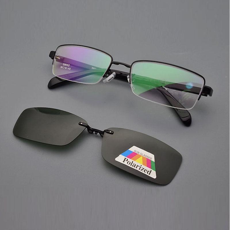Giyim Aksesuarları'ten Gözlük Çerçeveleri'de Gözlük Çerçevesi Erkekler Için  Kare Reçete Gözlük Optik Polarize Güneş Gözlüğü Gözlüğü Okuma Gözlük Altın  AliExpress'da