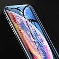 TOTUDESIGN 9H твердость поверхности HD Неразбитые края Закаленное стекло пленка для iPhone XS Max