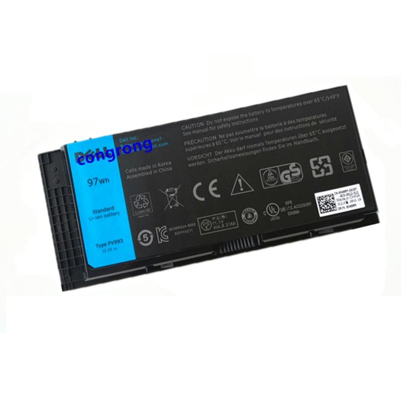 Аккумулятор FV993 9GP08 PG6RC X57F1 0TN1K5 3DJH7 для ноутбука DELL Precision M4700 M6700 M4600 M6600