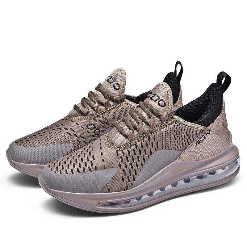 QUAOAR Shoes Men Sneakers Flat Male Casual Shoes Comfortable Running Men Footwear Breathable Mesh Sports Tzapatos De Hombre 12