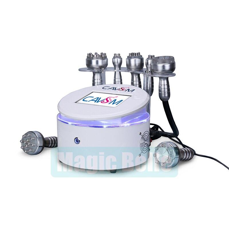 Wielofunkcyjny 40K kawitacji wyszczuplanie ciała napinanie skóry urządzenie kosmetyczne częstotliwości radiowej wielobiegunowy sprzęt próżniowy z CE