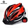 Bicicleta de montanha capacete com luz led vermelho e viseira de sol das mulheres dos homens leve estrada ciclismo capacete da bicicleta esportes equipamentos 11