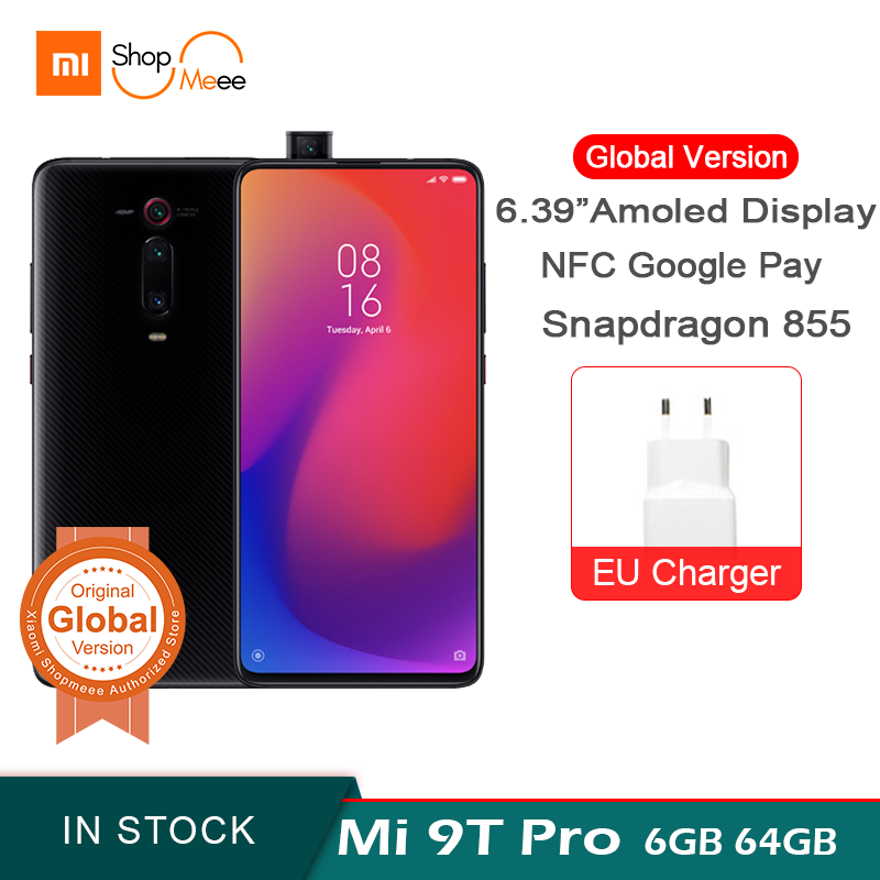 Global Version Xiaomi Mi 9T Pro 6GB 64GB ROM Snapdagon 855 Octa 6.39