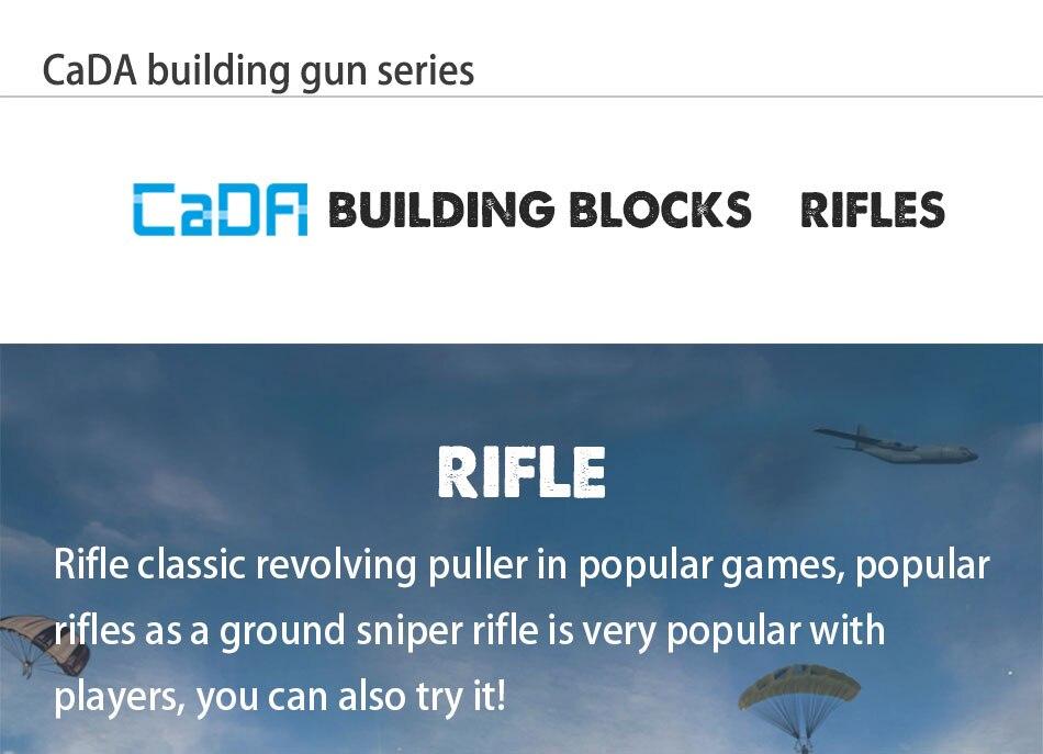 eagle submachine modelos blocos de construção compatível