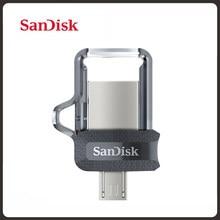 Sandisk SDDD3 extrême double clé USB OTG USB3.0 128GB 64GB 32GB 12GB lecteur de stylo haute vitesse 150 M/S clé USB pour téléphone ou ordinateur