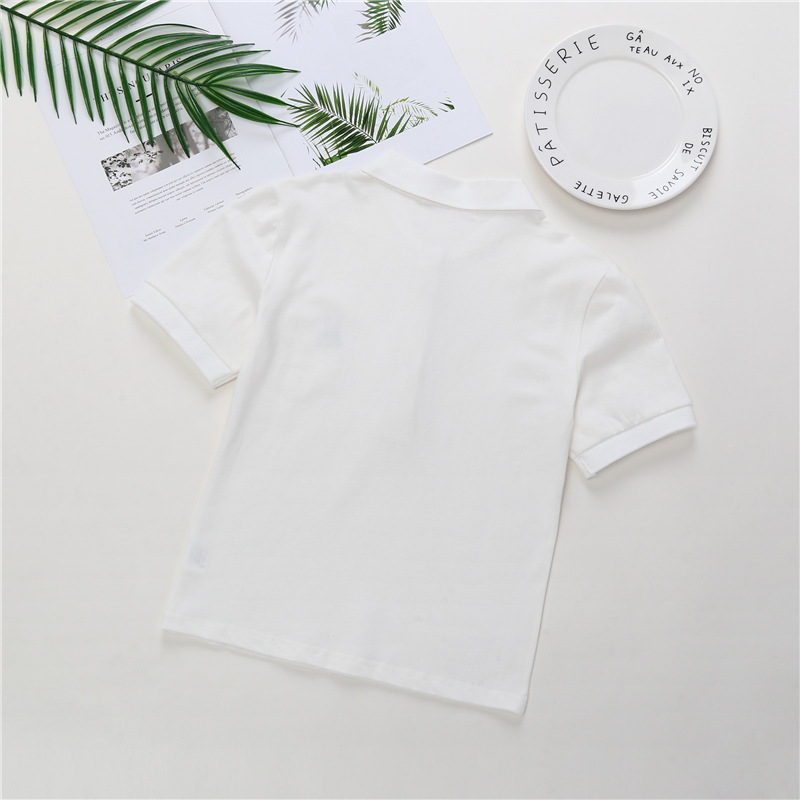 2018 New Style KID'S T-shirt Cotton BOY'S Clothes with Short Sleeves Korean-style Baby Men And Women Children Summer Wear POLO S