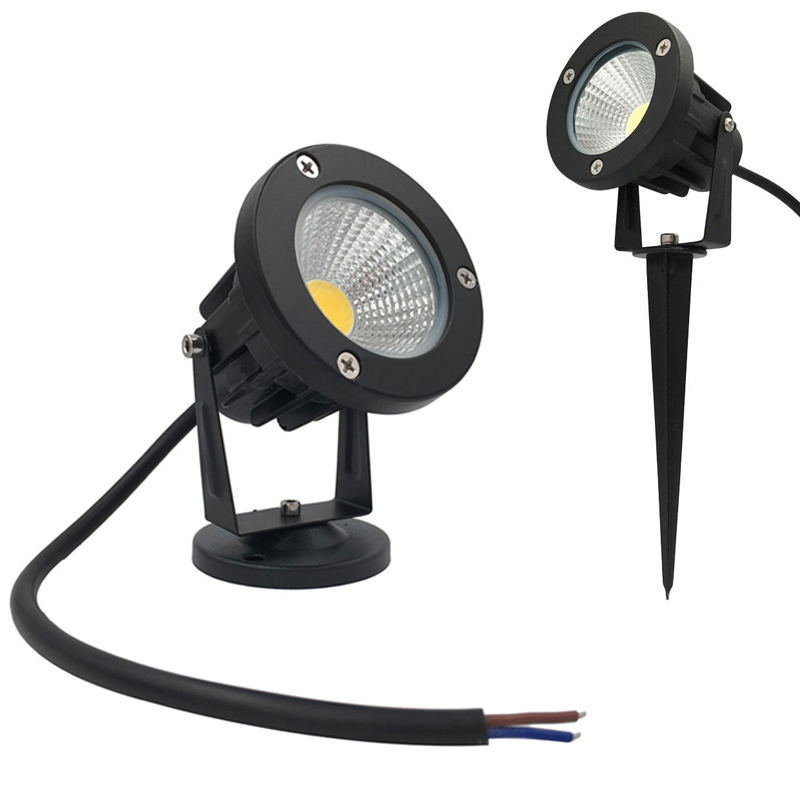 9W Led Outdoor Spotlight AC12V Garden Light AC85-265V Garden Landscape Light For Path Landscape Waterproof Spot Bulbs