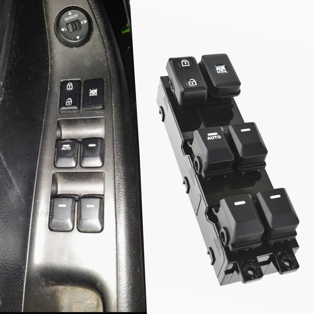 Автомобильный Электрический переключатель стеклоподъемника, 16 контактов, сменный аксессуар для Kia Picanto 2012 2013 2014 2015 93570-1Y200