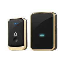 Wireless Doorbell Digital Music Doorbell Wireless Home Remote Control Doorbell Smart Doorbell Doorbell (US PLUG)(China)