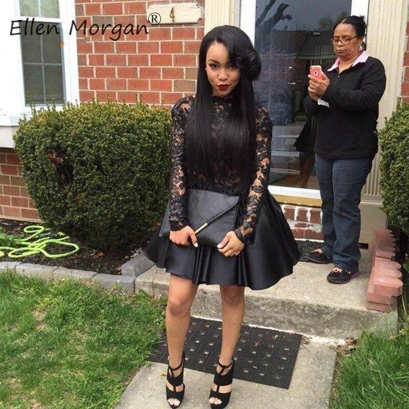 African Black Girls Homecoming Dresses Elegant