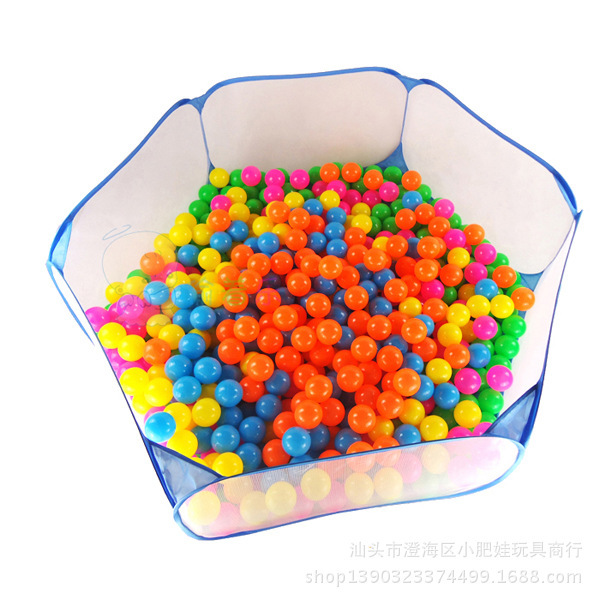 Ocean Ball Pool Children Wave Ball Tent Baby Baby Educational Toys 1-2-3 Years Old Children Play House Baby Fence Play Pen 1