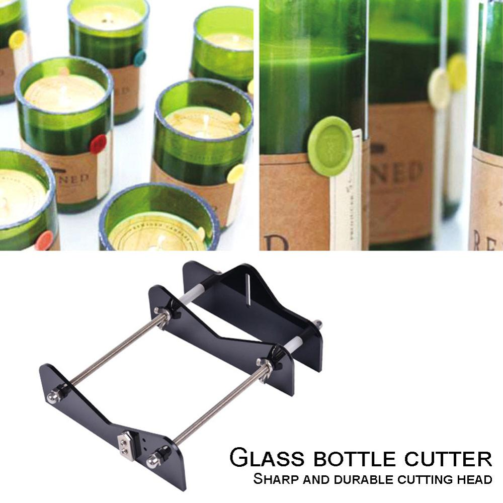 Professional Glass Bottle Cutter Round Bottle Cutting Machine Safety DIY Cutting Tool For Wine Beer Bottles Mason Jars