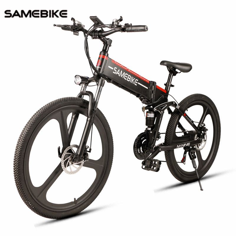 EU Stock Samebike 26 Electric Bike 21 Speed 10AH 48V 350W E Bike Electric Mountain Bike Motor Foldable EBike Electric Bicycle