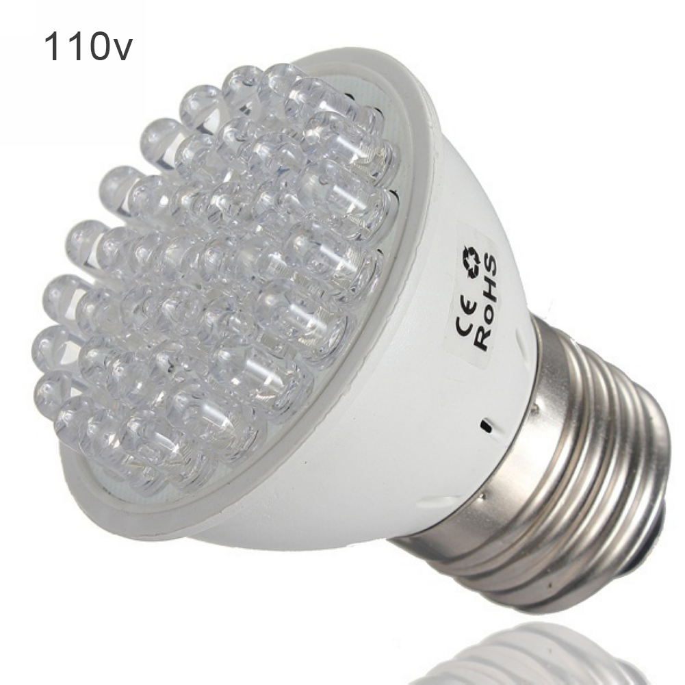 E27 Indoor Greenhouse Energy Saving Potted Agriculture Flower Plastic Easy Install 38LED Plant Growth Lamp