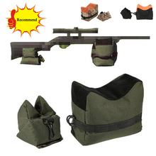 Tactical Outdoor Airsoft Sniper Shooting Gun Front Rear Bag Rest Bench Rifle Support Sandbag Hunting Accessories