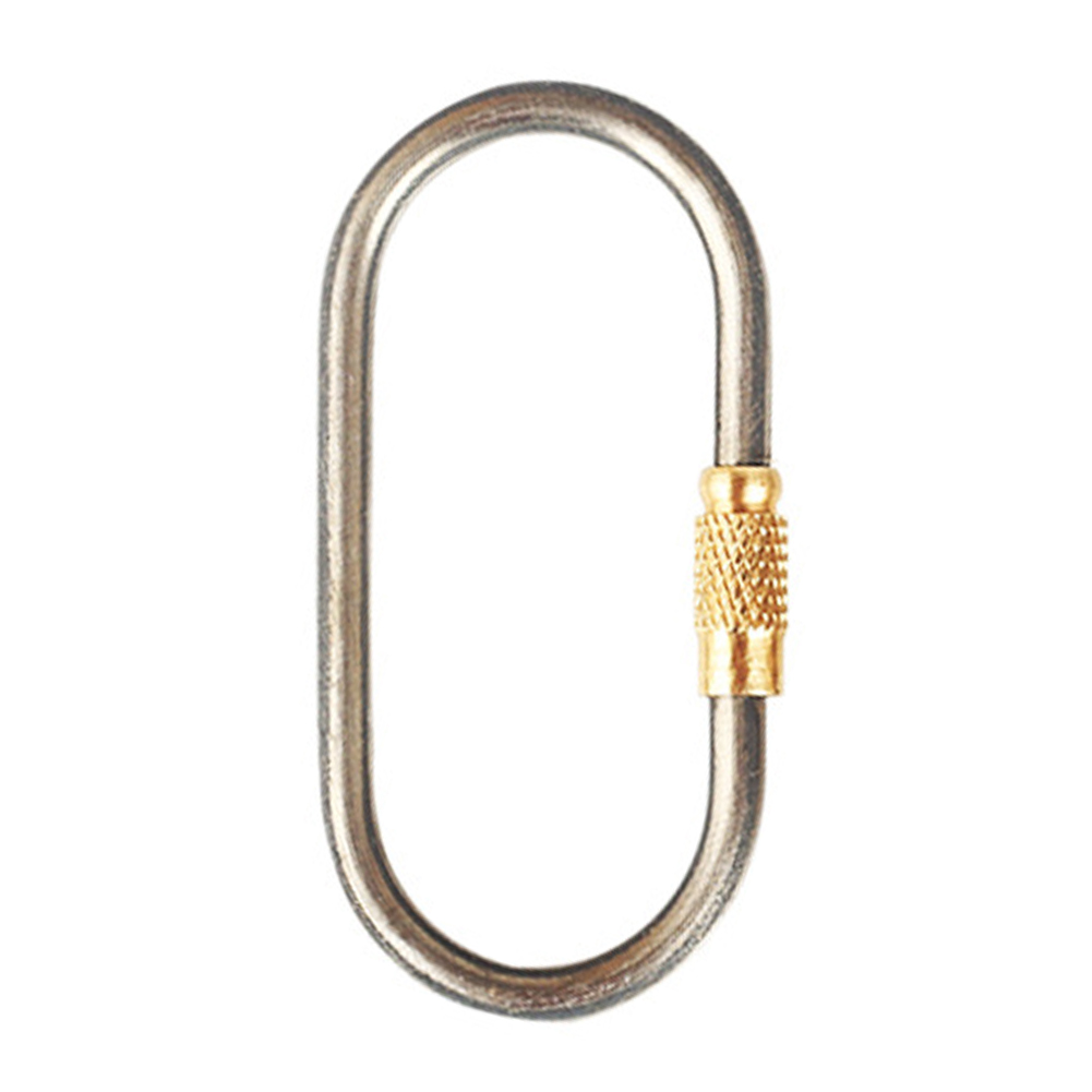 Lock Buckle Keychain Hook Hiking Outdoor Tool Mini Link Camping Titanium Alloy Portable Climbing Carabiner Hanging