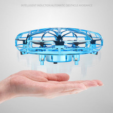 Mini Fly Helicopter UFO RC Drone Hand Sensing Aircraft Electronic Model Quadcopt