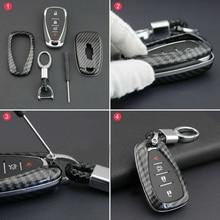 Чехол для ключей от царапин, износостойкий брелок для Chevrolet Equinox Camaro, черный чехол для ключей