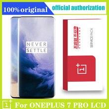 """Orijinal Oneplus 7Pro LCD ekran dokunmatik ekranlı sayısallaştırıcı grup 6.67 """"Oneplus 7 Pro LCD ekran yedek parça ekran"""