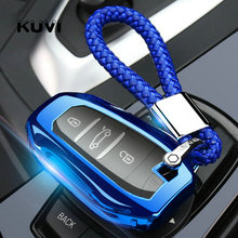 цена на Tpu Car Key Case Cover Keyless Fob Shell Skin For Peugeot 208 308 508 3008 5008 for Citroen C4 Picasso DS3 DS4 DS5 DS6